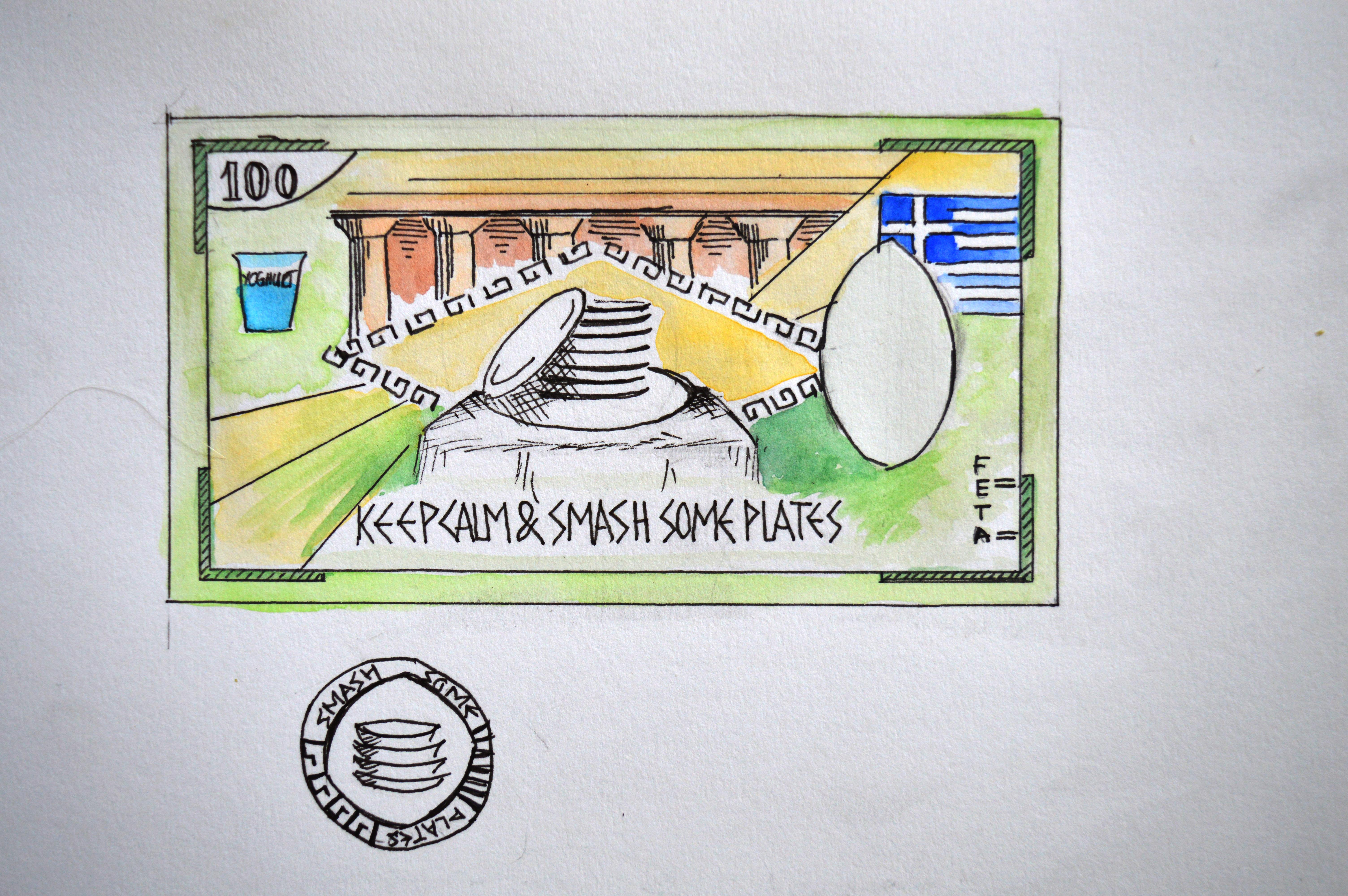 GISHWHES 2015 - Team Apokaleypse - Item 195 - New Greek Currency