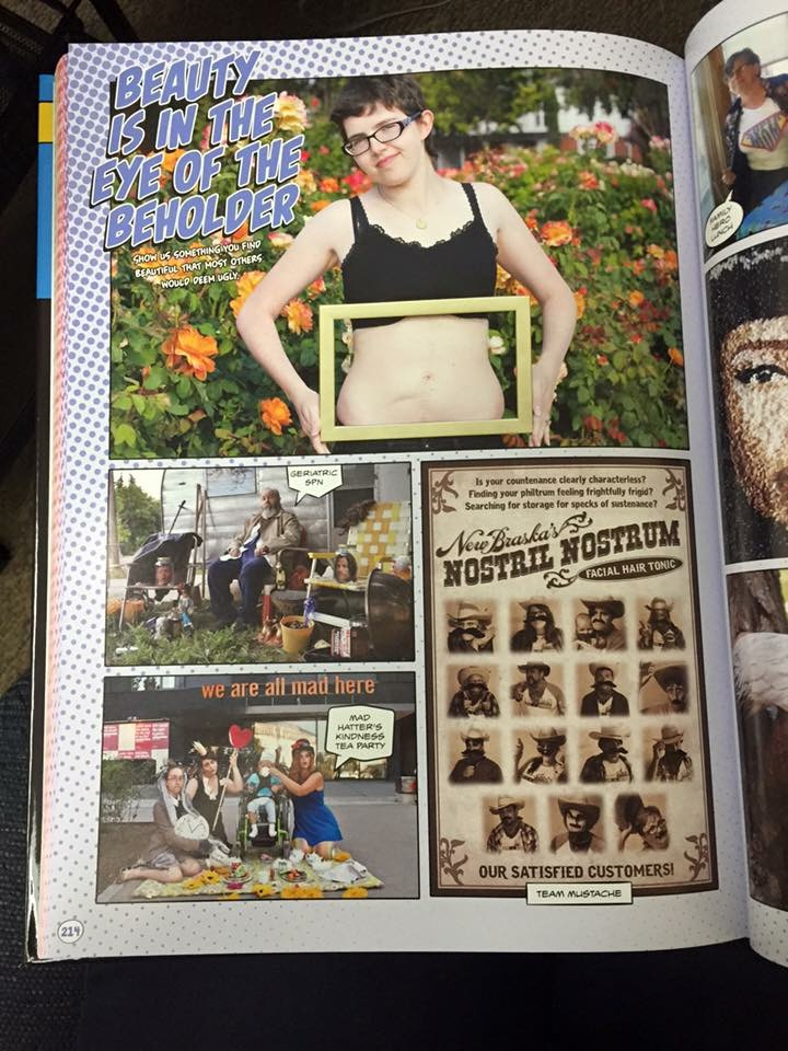 GISHWHES 2015 - Team Apokaleypse - Item 201 - Coffee Table Book