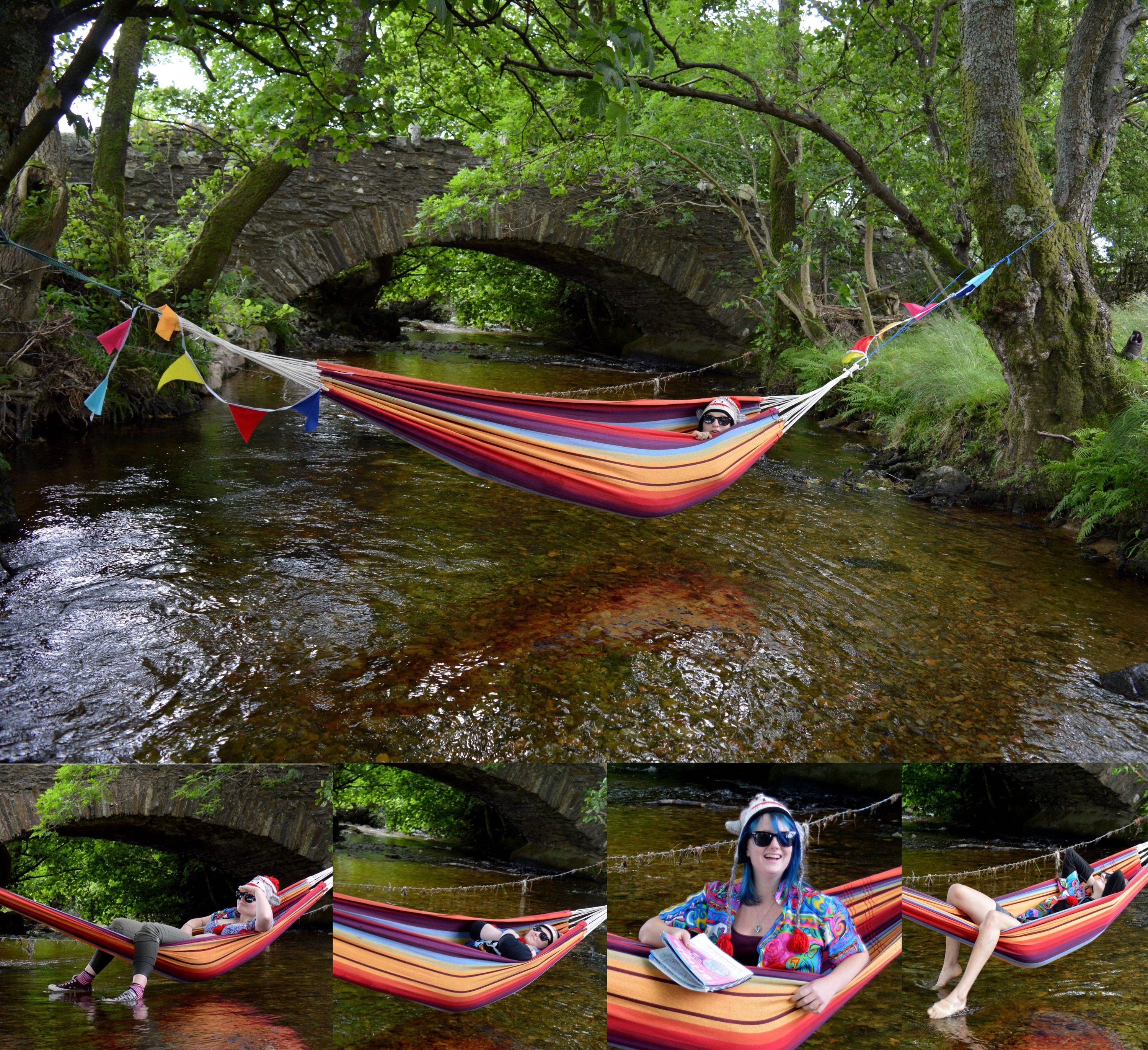 GISHWHES 2015 - Team Apokaleypse - Item 3 - Kick Back in a Hammock