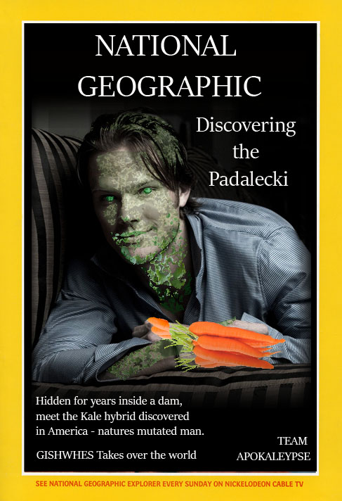 GISHWHES 2015 - Team Apokaleypse - Item 52 - Discovering the Padalecki