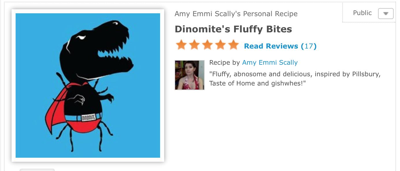 Item 193 - Dinomite's Fluffy Bites