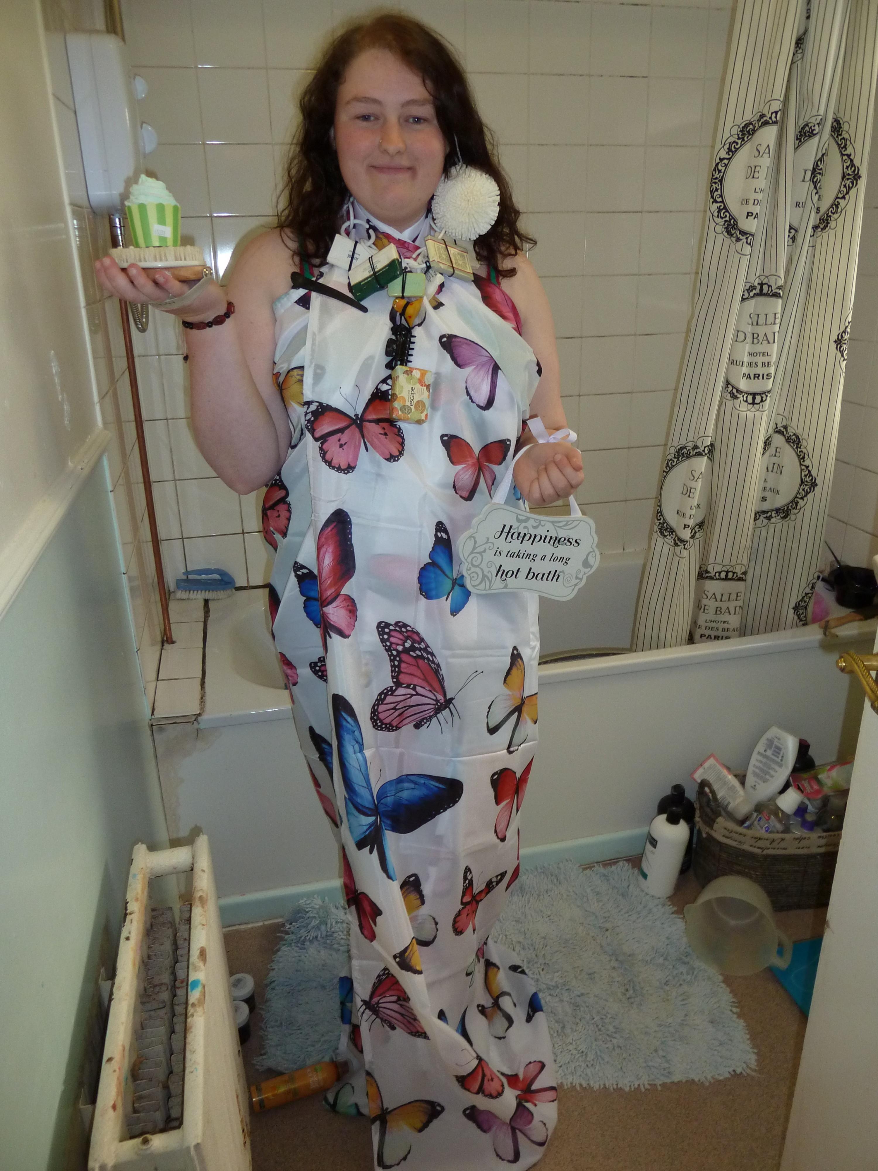 Item 17 - Bathroom Gala Dress