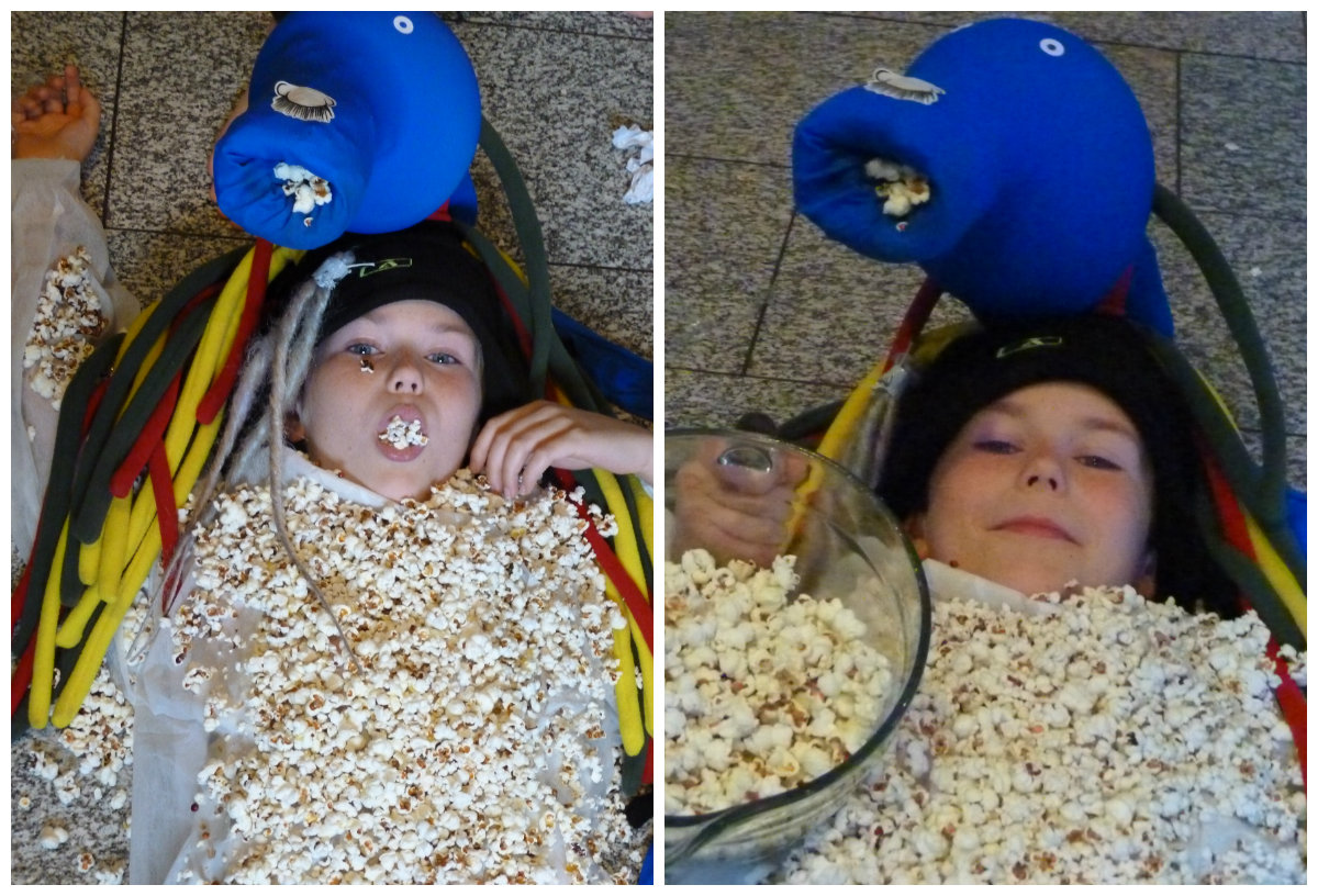 Item 34 - Popcorn Monster Kid