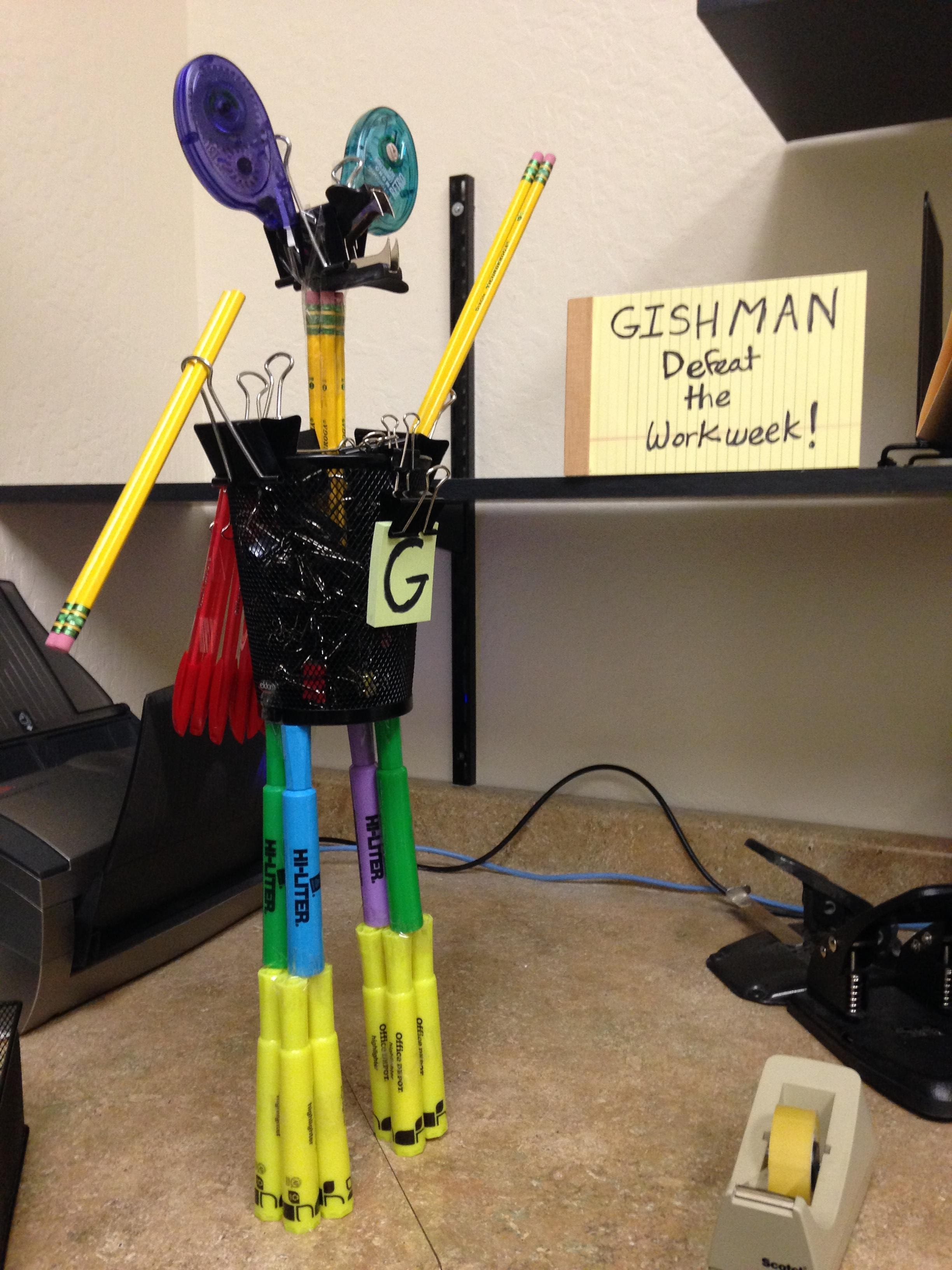 Item 62 - Office Supply Sculpture