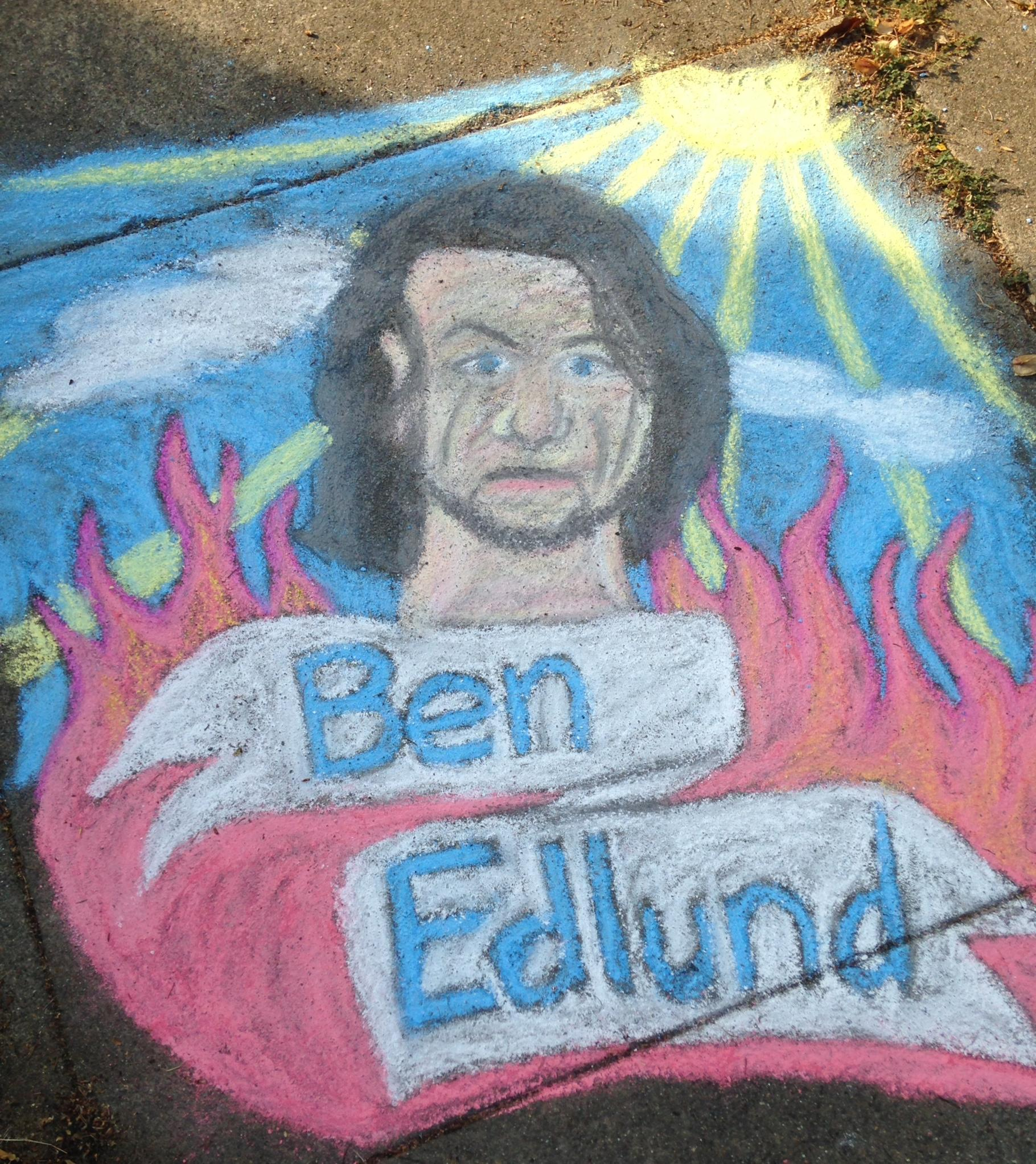 Item 83 - Chalk Art