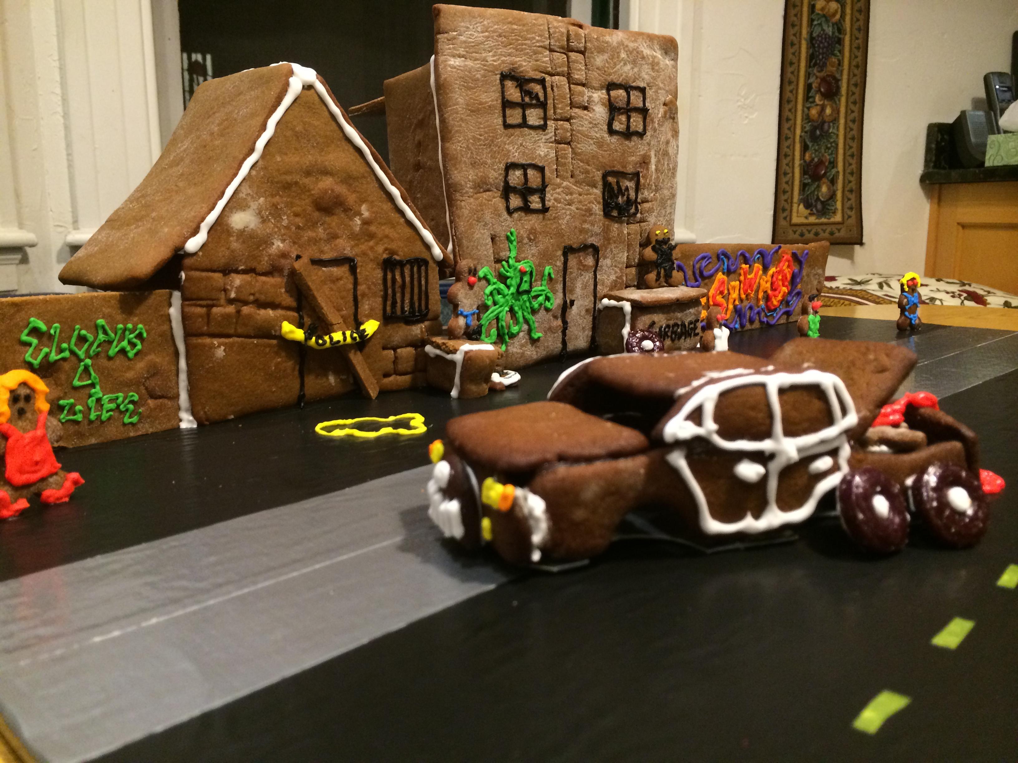 Item 90 - Gingerbread Urban Blight
