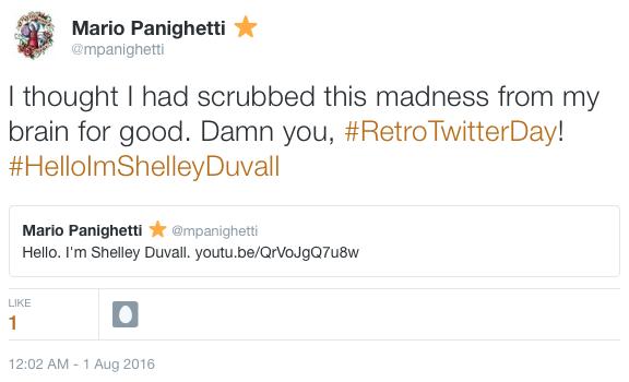 Item 164 - #RetroTwitterDay